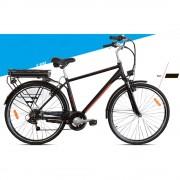 Велосипед электрогибрид Аист AMPER 28